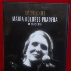 Vídeos y DVD Musicales: MARIA DOLORES PRADERA DVD CONCIERTOS DE ORO PLANETA. Lote 180262530