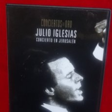 Vídeos y DVD Musicales: JULIO IGLESIAS DVD CONCIERTOS DE ORO PLANETA . Lote 180263036