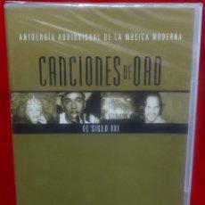 Vídeos y DVD Musicales: CANCIONES DE ORO - ANTOLOGIA AUDOVISUAL EL SIGLO XXI PRECINTADO. Lote 180264196