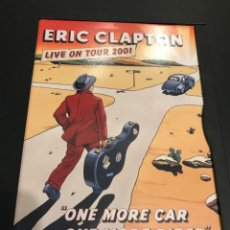 Vídeos y DVD Musicales: ERIC CLAPTON LIVE ON TOUR 2001 DVD ONE MORE CAR ONE MORE RIDER. Lote 180266275