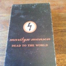 Vídeos y DVD Musicales: MARILYN MANSON - DEAD TO THE WORLD - LA GIRA QUE AMERICA NO QUIERE QUE VEAS - BMG MUSIC 1998. Lote 181107375