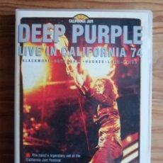 Vídeos y DVD Musicales: DEEP PURPLE. Lote 181444743