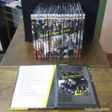 Vídeos y DVD Musicales: DVD - BEST CLIPS EVER, VIDEOCLIPS QUE MARCARON UNA ÉPOCA - 1980-1999 - 20 DVD'S - PRECINTADOS. Lote 182084430