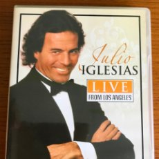 Vídeos y DVD Musicales: JULIO IGLESIAS LIVE FROM LOS ANGELES. Lote 182103270