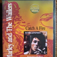 Vídeos y DVD Musicales: BOB MARLEY AND THE WAILERS - CATCH A FIRE - DVD -. Lote 182142433