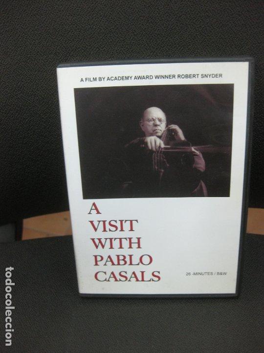 A VISIT WITH PABLO CASALS. 26 MINUTES / B&W. A FIM BY ACADEMY AWARD WINNER ROBERT SNEYDER. DVD. (Música - Videos y DVD Musicales)