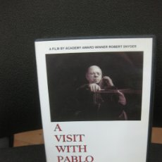 Vídeos y DVD Musicales: A VISIT WITH PABLO CASALS. 26 MINUTES / B&W. A FIM BY ACADEMY AWARD WINNER ROBERT SNEYDER. DVD.. Lote 182481661