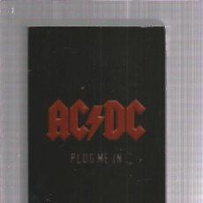 Vídeos y DVD Musicales: AC DC PLUG ME IN. Lote 182577342