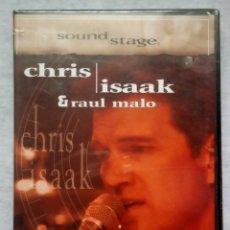 Vídeos y DVD Musicales: CHRIS ISSAK & RAUL MALO - SOUND STAGE - DVD ESPAÑOL 2003 - PRODUCCIONES JRB - NUEVO / PRECINTADO. Lote 182863607