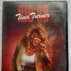 Vídeos y DVD Musicales: TINA TURNER - RIO 88 (LIVE IN CONCERT RIO DE JANEIRO) - DVD ESPAÑOL 2004 - EAGLE VISION - PRECINTADO. Lote 182864185