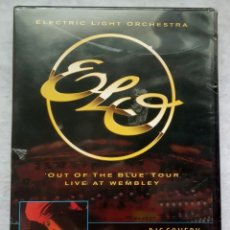 Vídeos y DVD Musicales: ELO - OUT OF THE BLUE TOUR (LIVE AT WEMBLEY) + DISCOVERY - DVD ESPAÑOL 2004 - EAGLE VISION - NUEVO. Lote 182864900