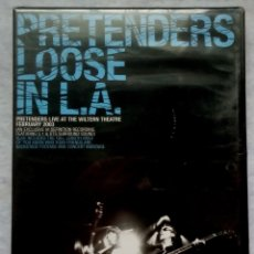 Vídeos y DVD Musicales: PRETENDERS - LOOSE IN L.A (LIVE AT THE WILTERN THEATRE FEBRUARY 2003) - DVD ESPAÑOL 2004 - NUEVO. Lote 182865562