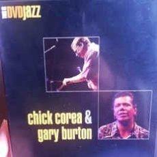 Vídeos y DVD Musicales: CHICK COREA & GARY BURTON* - CHICK COREA & GARY BURTON (DVD, PAL) LABEL:TDK MEDIACTIVE CAT#: TDJ-05. Lote 182875407