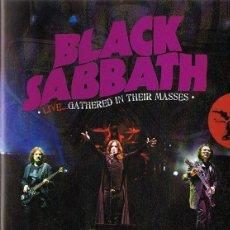 Vídeos y DVD Musicales: BLACK SABBATH LIVE...GATHERED IN THEIR MASSES ( DVD + CD). Lote 182974315