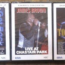 Vídeos y DVD Musicales: 3 DVD. GRANDES CONCIERTOS: PAUL MCCARTNEY, TOM JONES, JAMES BROWN.. Lote 183174661