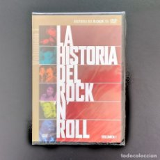 Vídeos y DVD Musicales: LA HISTORIA DEL ROCK N ROLL. EPISODIO 1: LOS INICIOS DEL ROCK N ROLL. (DVD PRECINTADO). Lote 183267518