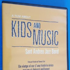 Vídeos y DVD Musicales: DVD MUSICAL / A FILM ABOUT KIDS AND MUSIC / SANT ANDREU JAZZ BAND, 2014 NUEVO. Lote 184059756