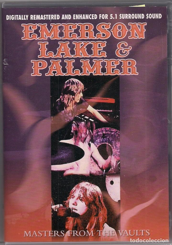 EMERSON LAKE & PALMER - MASTERS FROM THE VAULTS - DVD (Música - Videos y DVD Musicales)