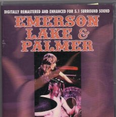 Vídeos y DVD Musicales: EMERSON LAKE & PALMER - MASTERS FROM THE VAULTS - DVD. Lote 184212152
