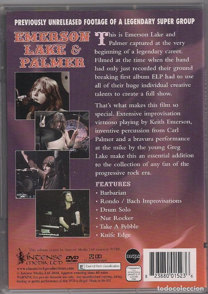 Vídeos y DVD Musicales: Emerson Lake & Palmer - Masters From The Vaults - DVD - Foto 2 - 184212152