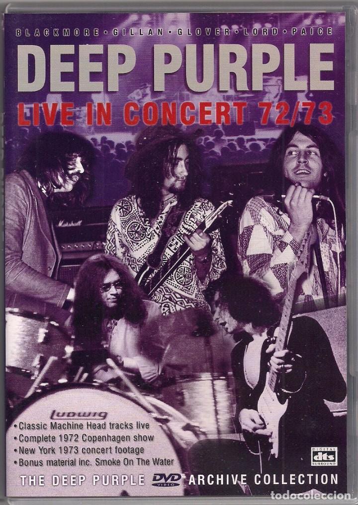DEEP PURPLE - LIVE IN CONCERT 72/73 - DVD (Música - Videos y DVD Musicales)