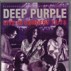 Vídeos y DVD Musicales: DEEP PURPLE - LIVE IN CONCERT 72/73 - DVD. Lote 184213776