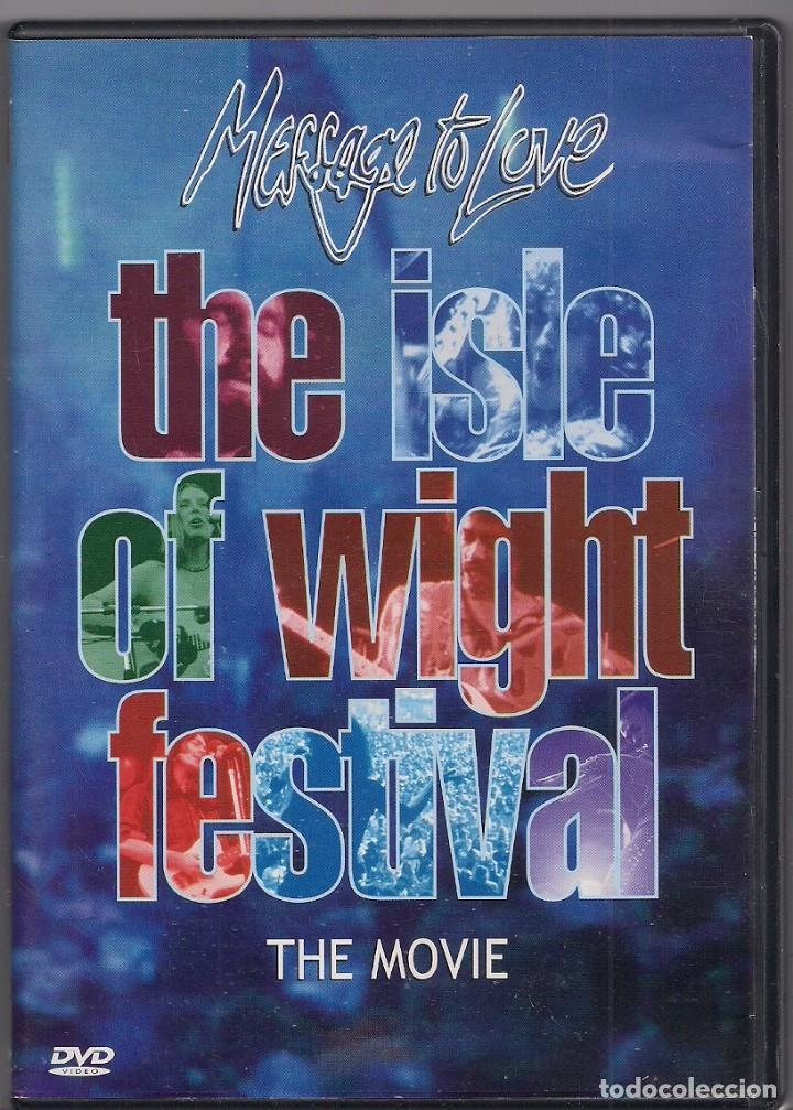 THE ISLE OF WIGHT FESTIVAL - THE MOVIE - MESSAGE TO LOVE - DVD (Música - Videos y DVD Musicales)