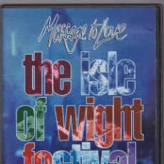Vídeos y DVD Musicales: THE ISLE OF WIGHT FESTIVAL - THE MOVIE - MESSAGE TO LOVE - DVD. Lote 184214745