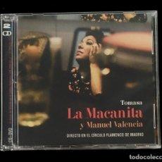 Vídeos y DVD Musicales: LA MACANITA EN DIRECTO - DVD Y CD -NUEVO, PRECINTADO. Lote 184653836