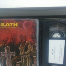 Vídeos y DVD Musicales: DEATH. IS JUST THE BEGINNING V. VHS. Lote 184850277