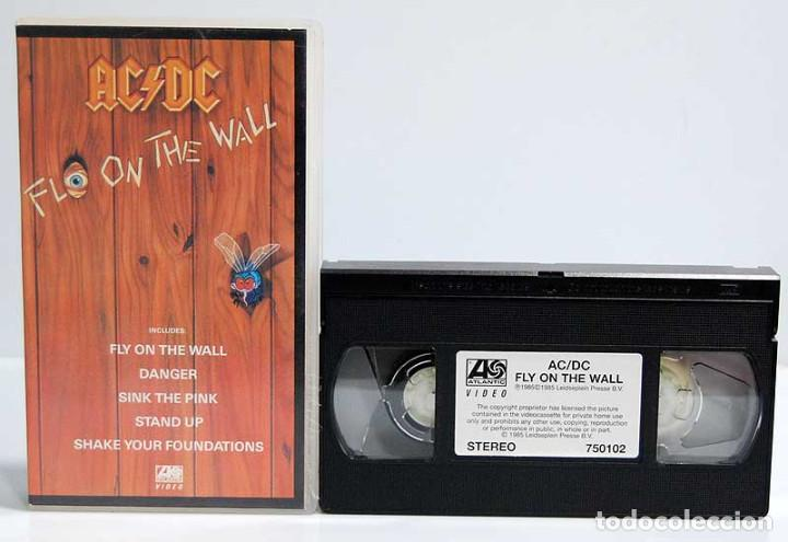 AC/DC - FLY ON THE WALL. VHS UK (Música - Videos y DVD Musicales)