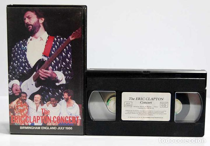 THE ERIC CLAPTON CONCERT. BIRMINGHAM ENGLAND JULY 1986. VHS (Música - Videos y DVD Musicales)