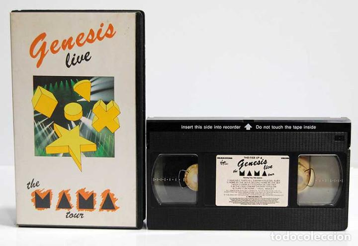 GENESIS LIVE. THE MAMA TOUR. VHS (Música - Videos y DVD Musicales)