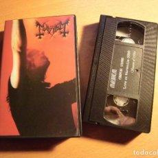 Vídeos y DVD Musicales: MAYHEM- EUROPEAN LEGIONS VHS. Lote 185695801