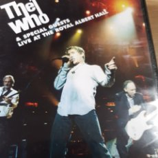 Vídeos y DVD Musicales: THE WHO LIVE AT THE ROYAL ALBERT HALL DOBLE DVD. Lote 185744298