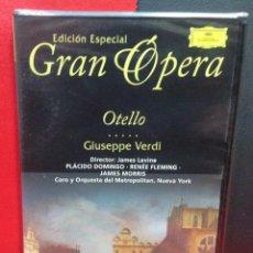 Vídeos y DVD Musicales: OTELLO, DE GIOSEPPE VERDI, GRAN OPERA EDICION ESPECIAL, PRECINTADO. Lote 185892868