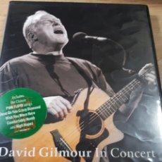 Vídeos y DVD Musicales: DAVID GILMOUR IN CONCERT. Lote 185896727