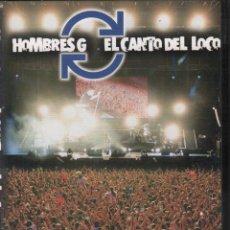 Vídeos e DVD Musicais: HOMBRES G Y EL CANTO DEL LOCO. ESTADIO VICENTE CALDERON 6 DE JULIO DE 2005 - DVD DE 2005 RF-1300 . Lote 185944253