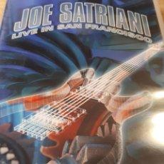 Vídeos y DVD Musicales: JOE SATRIANI LIVE IN SAN FRANCISCO DOBLE DVD. Lote 186066098