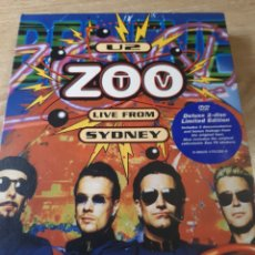 Vídeos y DVD Musicales: U2 ZOO LIVE FROM SYDNEY EDIC.DELUXE LIMITADA DOBLE DVD. Lote 186067750