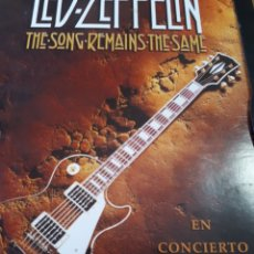 Vídeos y DVD Musicales: LED ZEPPELIN THE SONG REMAINS THE SAME DVD. Lote 186069217