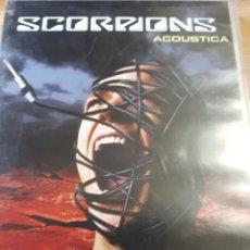 Vídeos y DVD Musicales: SCORPIONS ACOUSTICA. Lote 186071971