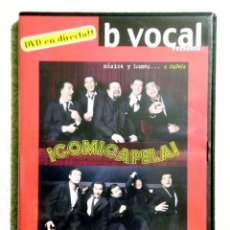 Vídeos y DVD Musicales: B VOCAL.EN DIRECTO SALA MOZART 30-6-2007..ARAGON. Lote 186224171