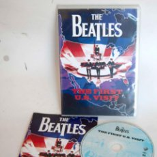 Vídeos y DVD Musicales: THE BEATLES THE FIRST U.S. VISIT EN DVD US U S. Lote 186429748