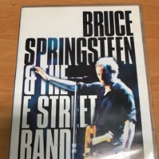 Vídeos y DVD Musicales: DVD DOBLE BRUCE SPRINGSTEEN LIVE IN NEW YORK CITY. Lote 187090212