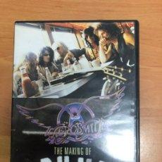 Vídeos y DVD Musicales: DVD AEROSMITH THE MAKING OF PUMP. Lote 187090262
