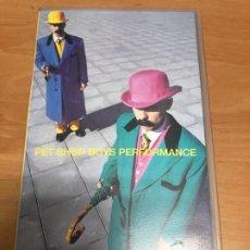 Vídeos y DVD Musicales: VIDEO VHS PET SHOP BOYS PERFOMANCE . Lote 187092367