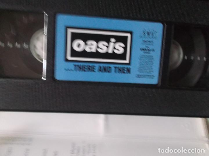 Vídeos y DVD Musicales: OASIS,THERE AND THEN, VHS 1996 - Foto 3 - 187436592
