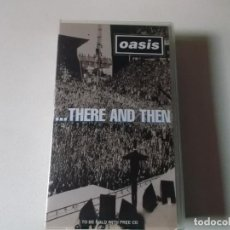 Vídeos y DVD Musicales: OASIS,THERE AND THEN, VHS 1996. Lote 187436592