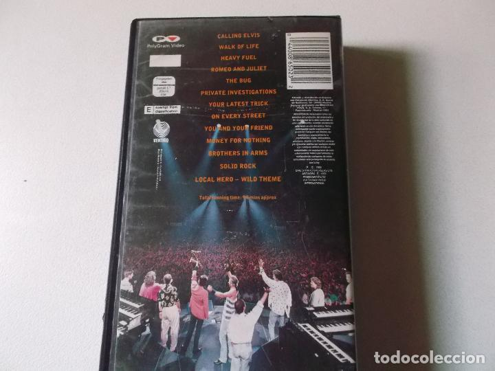 Vídeos y DVD Musicales: DIRE STRAITS ON THE NIGHT, VHS - Foto 2 - 187437052